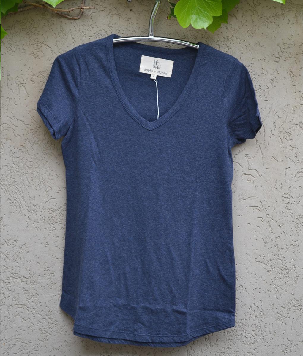 T'shirt plain denim