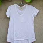 T'shirt white v neck