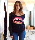 Merino Lips Sweater