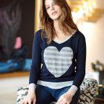Merino Metallic Trim Sweater