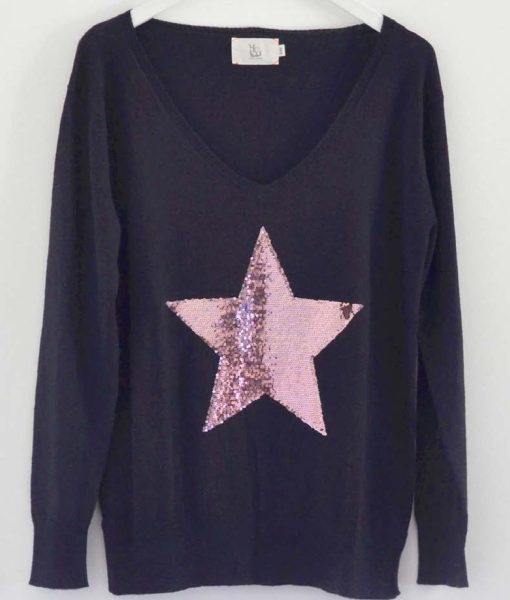 Navy-with-Dusky-Pink-Star-Sweater-Sophie-Moran-1020×1200