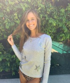 grey Marle silver star sweater