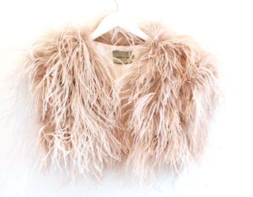 ostrich balero blush