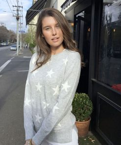 cotton cashmere star sweater