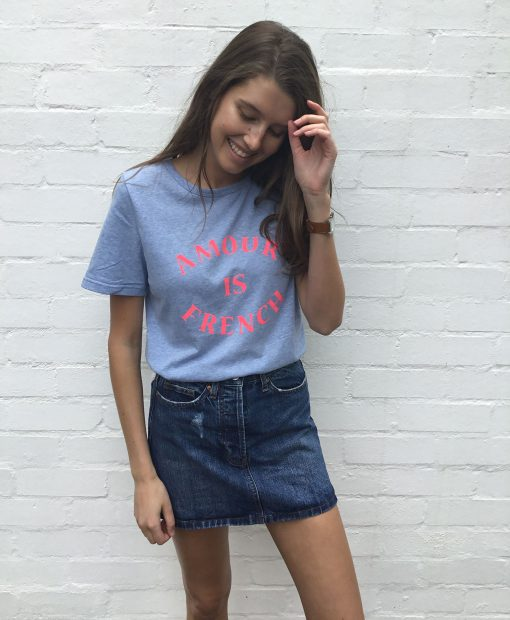 Amour Cotton tee shirt