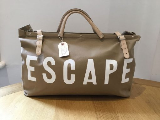 Escape Overnight Bag - Natural