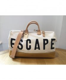Escape Overnight bag cream
