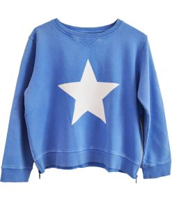 Zip Sweater blue star