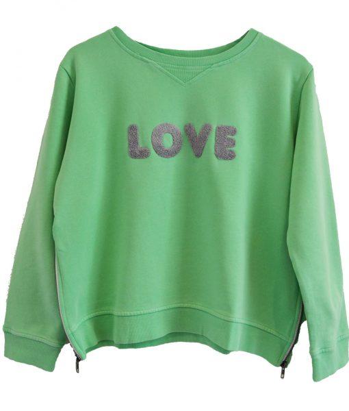 zip-sweater-green-love