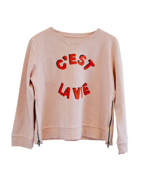 C'est La Vie Zip Sweater