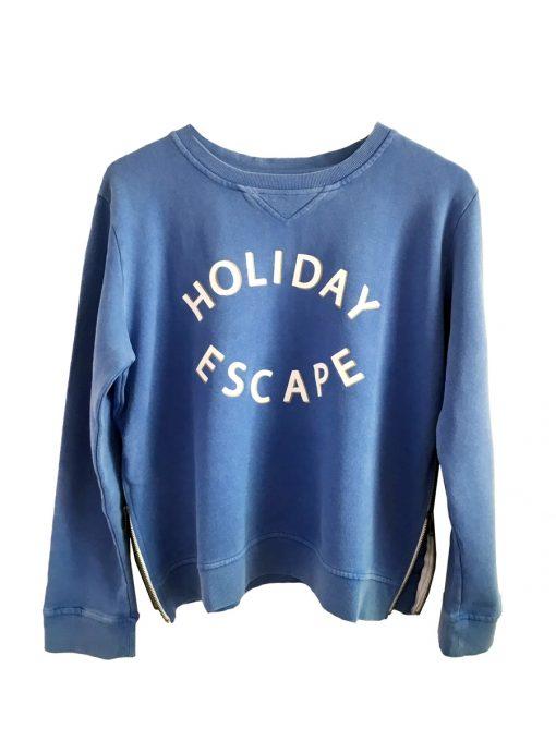 Zip Holiday Sweatshirt
