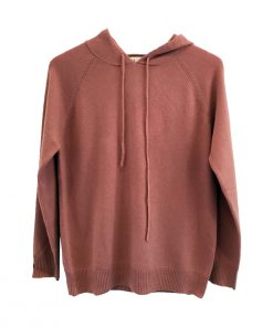 Cashmere Hoodie - Dusky Pink