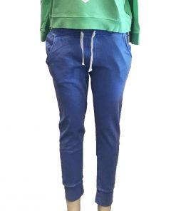 trackpants blue