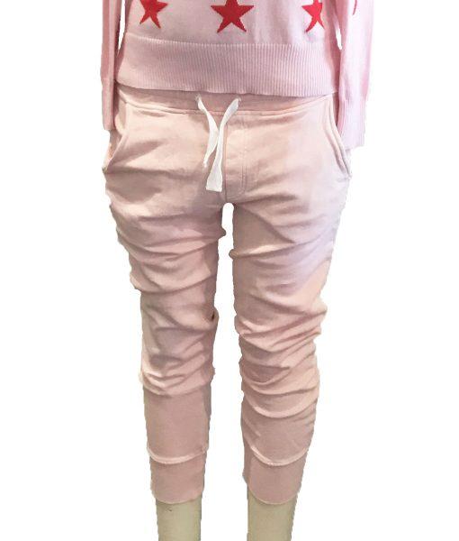 trackpants pink