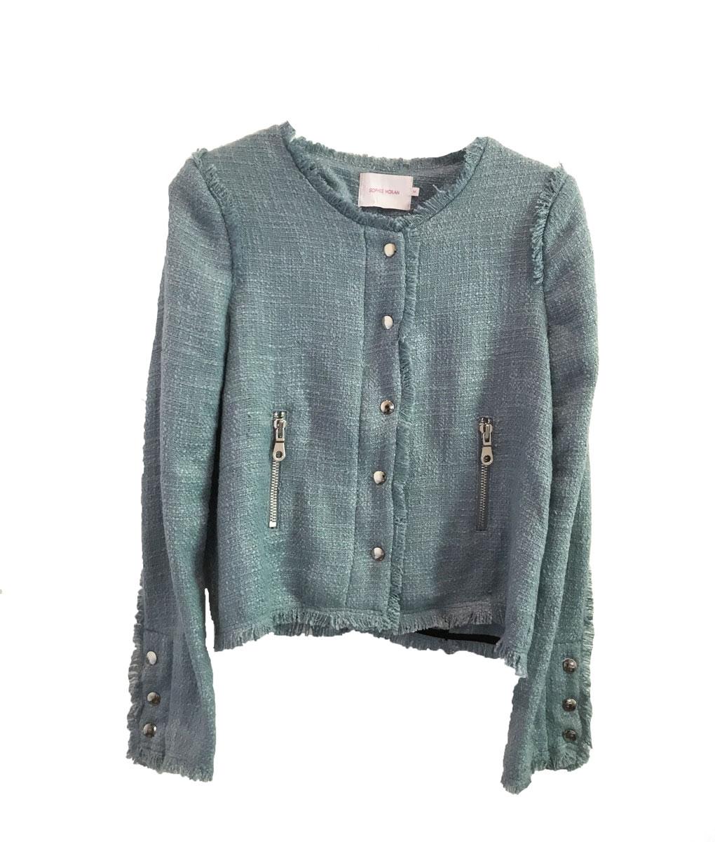Tweed jacket blue