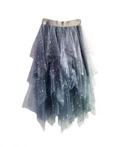 Star Star Skirt Blue