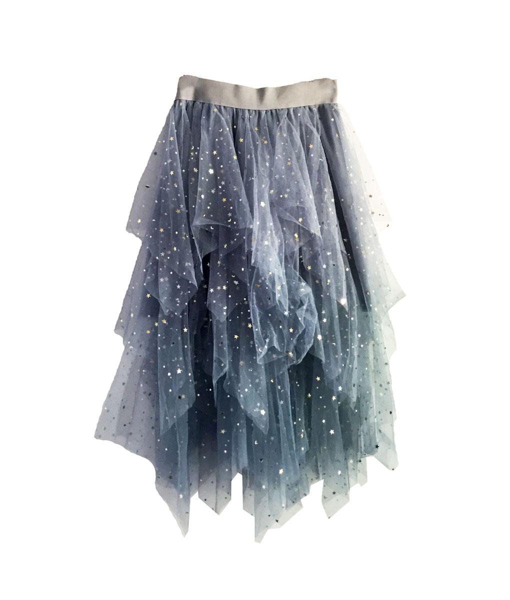 Star Star Skirt Blue