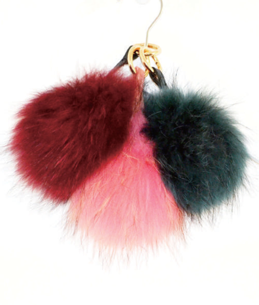 Fur Key Chain