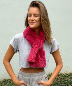sophie fur scarf