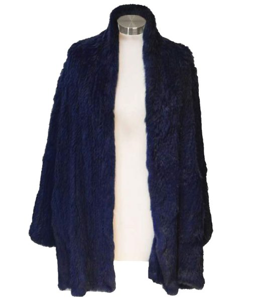 relaxed Long Fur Coat