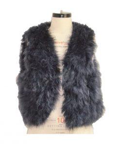 Turkey Feather Vest