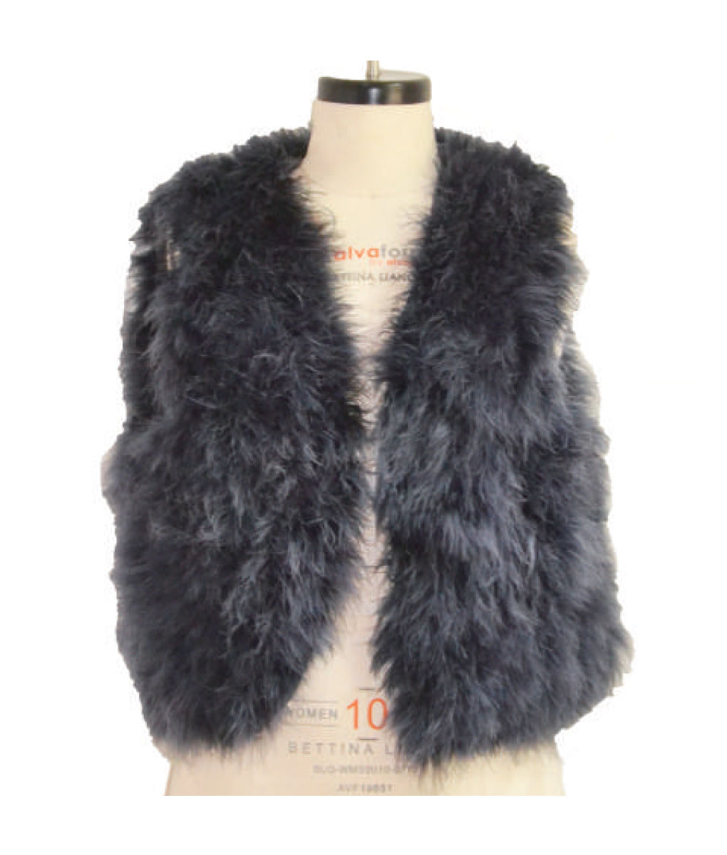 Turkey Feather Vest
