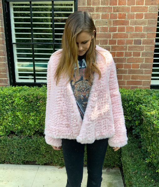 Faux Fur Everyday Pink Jacket