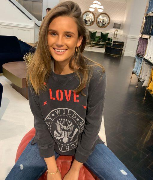 Zip Love Sweatshirt