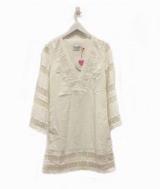 Kaftan Dress White