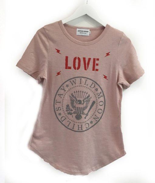 Dusky Pink tee shirt