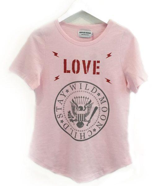 Pink Love Tshirt