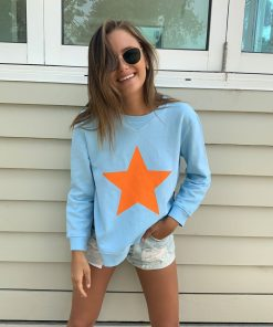 Zip sweatshirt baby blue