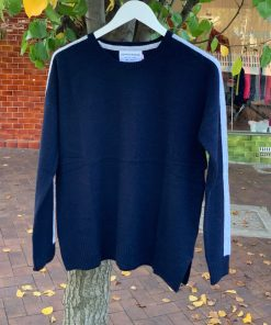 Cashmere sweater french navy