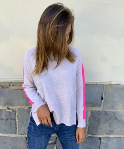 cashmere sweater oatmeal