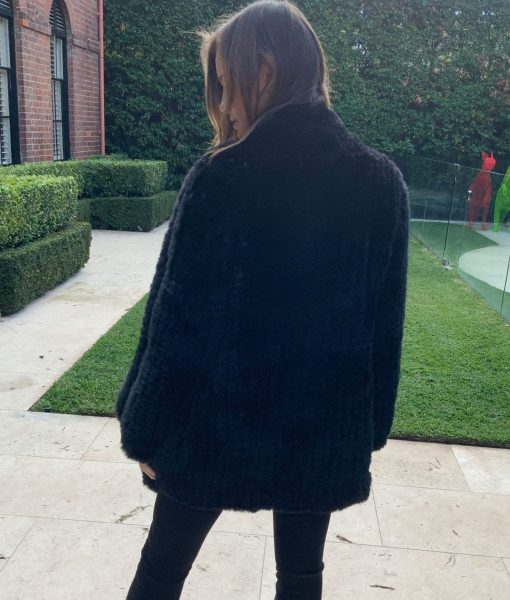 Waterfall Coat Faux Fur
