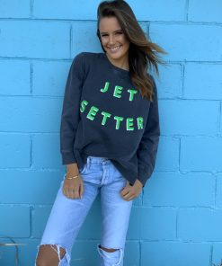 jetsetter sweater charcoal