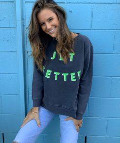 jetsetter sweater charcoal