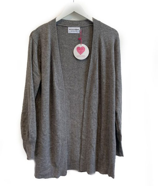 weekend cardigan grey