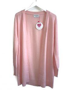 Pink weekend cardigan