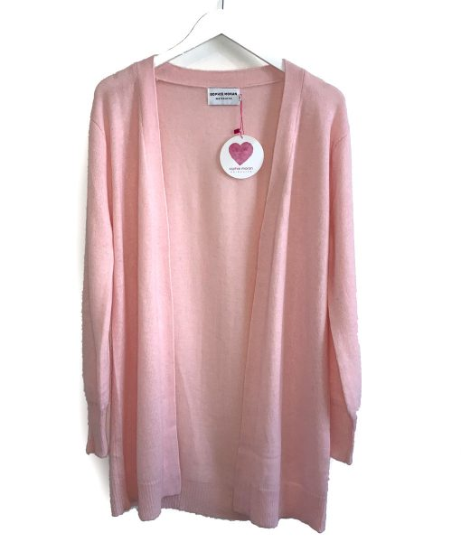 Pink weekend cardigan