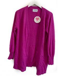 weekend cardigan purple