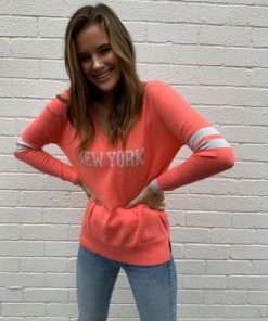 new york sweater guava