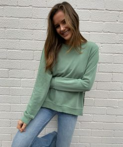 plain khaki sweater