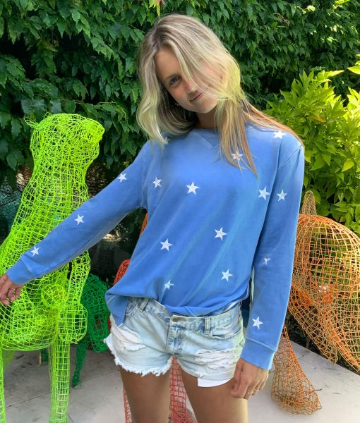 embroidery star sweater