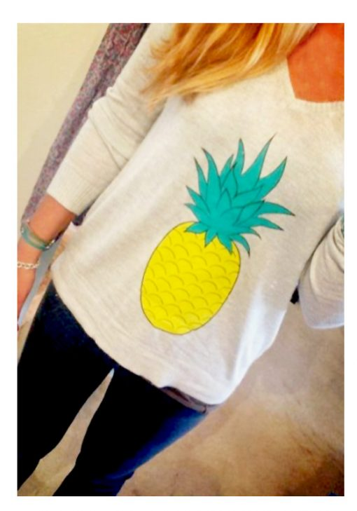 the pineapple sweater