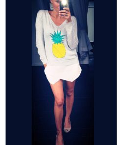 pineapple sweater