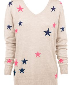 oatmeal with stars sweater
