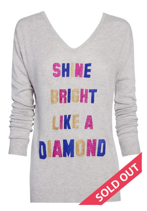 shone bright like a diamond sweater