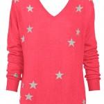Watermelon & Stars Sweater