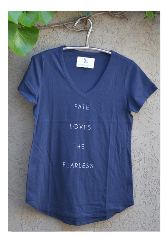 tshirt fate loves the fearless